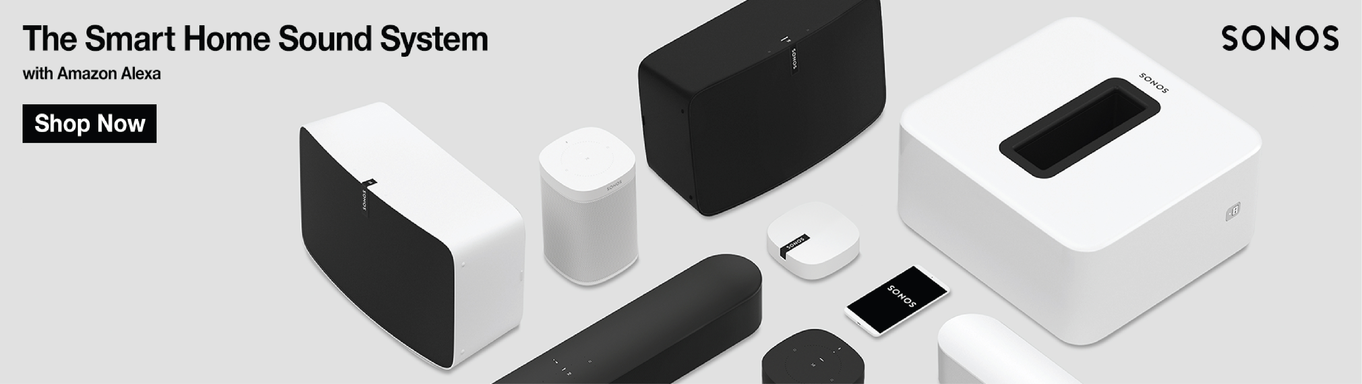 Sonos Now Available!